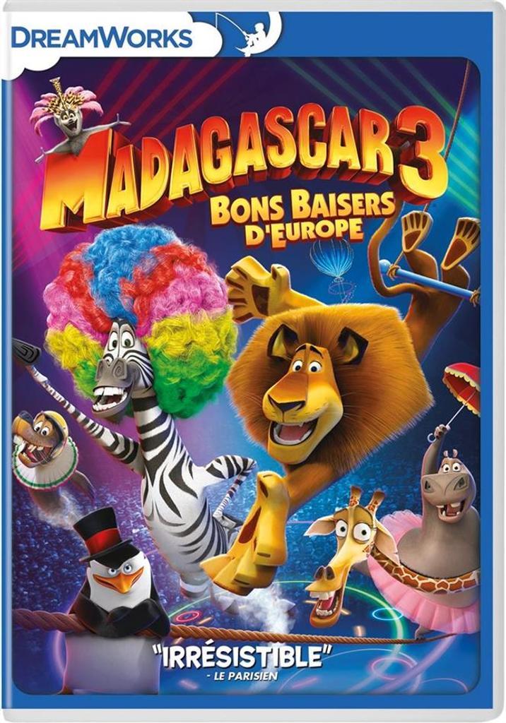 Madagascar 3 : Bons baisers d'Europe |